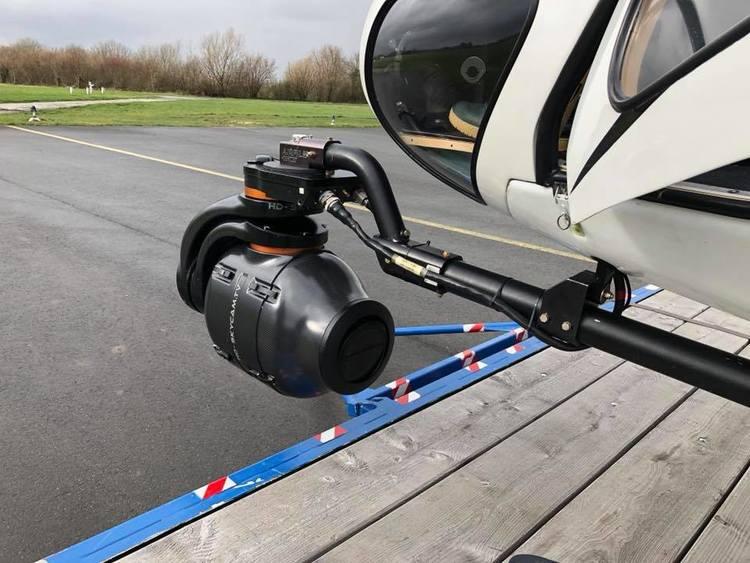 Kamerasystem am Hubschrauber