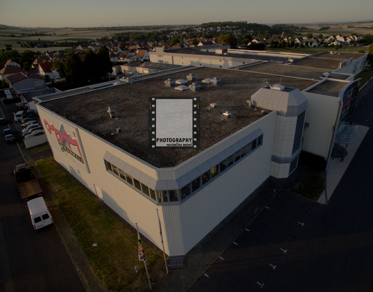 Luftbild Gewerbeobjekt