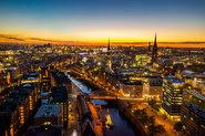 Drohnenaufnahmen für Novomind AG in Hamburg