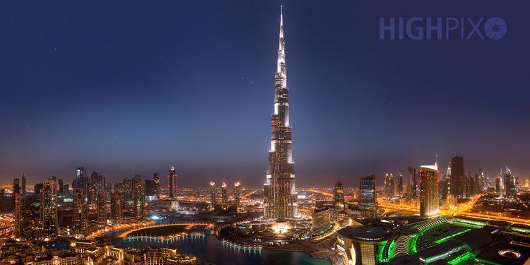 Burj Kalifa in Dubai, das höchste Haus der Welt