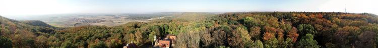 Friedrichsberg-Steigerwald Panorama 360°