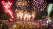 Abschlussparty der DATEV Challenge in Roth, dem Weltgrößten Triathlon